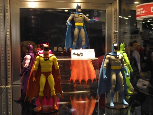 [Wondercon 2012] Stand da DC Direct Dscf6280