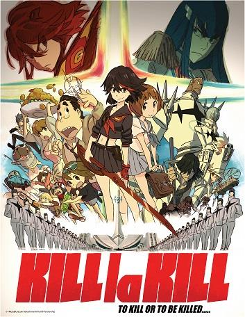 [PR] Aniplex of America to Release KILL la KILL on Blu-ray and DVD
