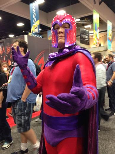 Magneto! Photo by Jason T. Smith.