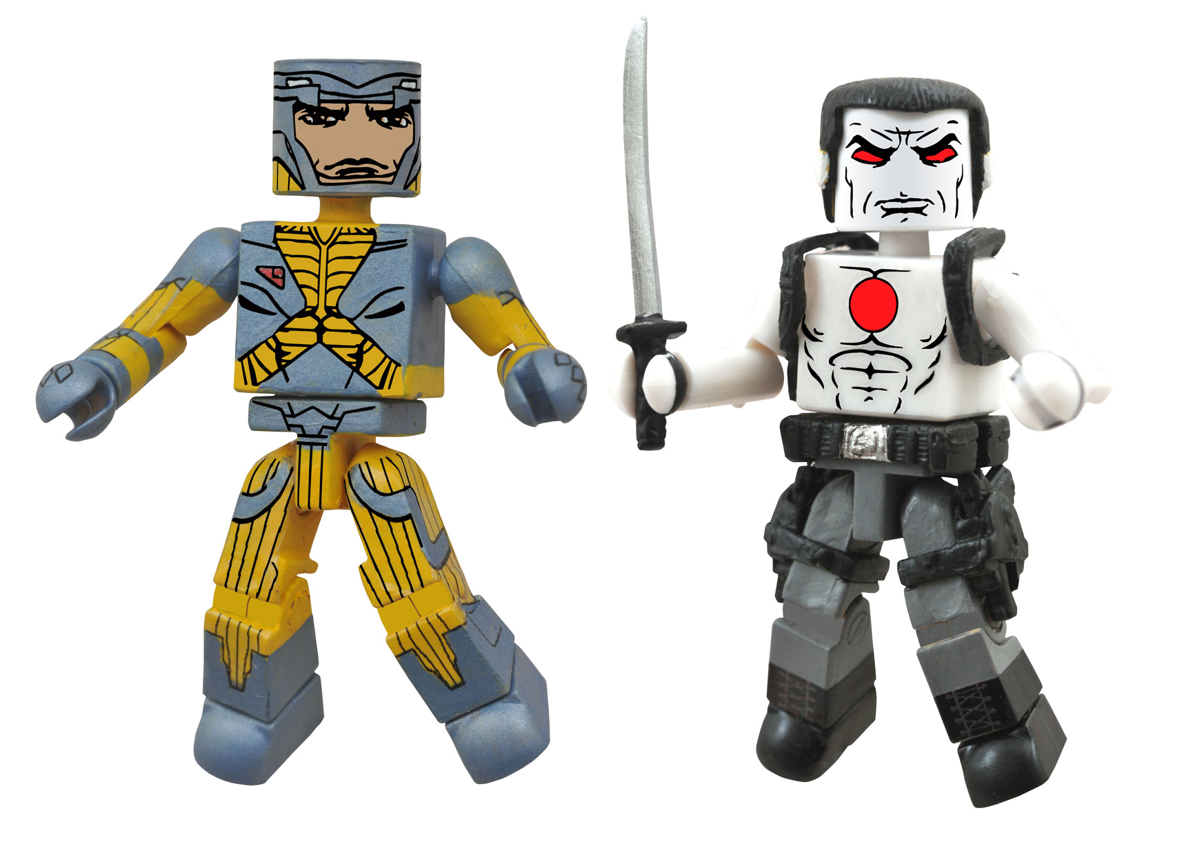 "Valiant MiniMates Two- Pack – X-O Manowar/Bloodshot (Toys""R""Us Exclusive)"