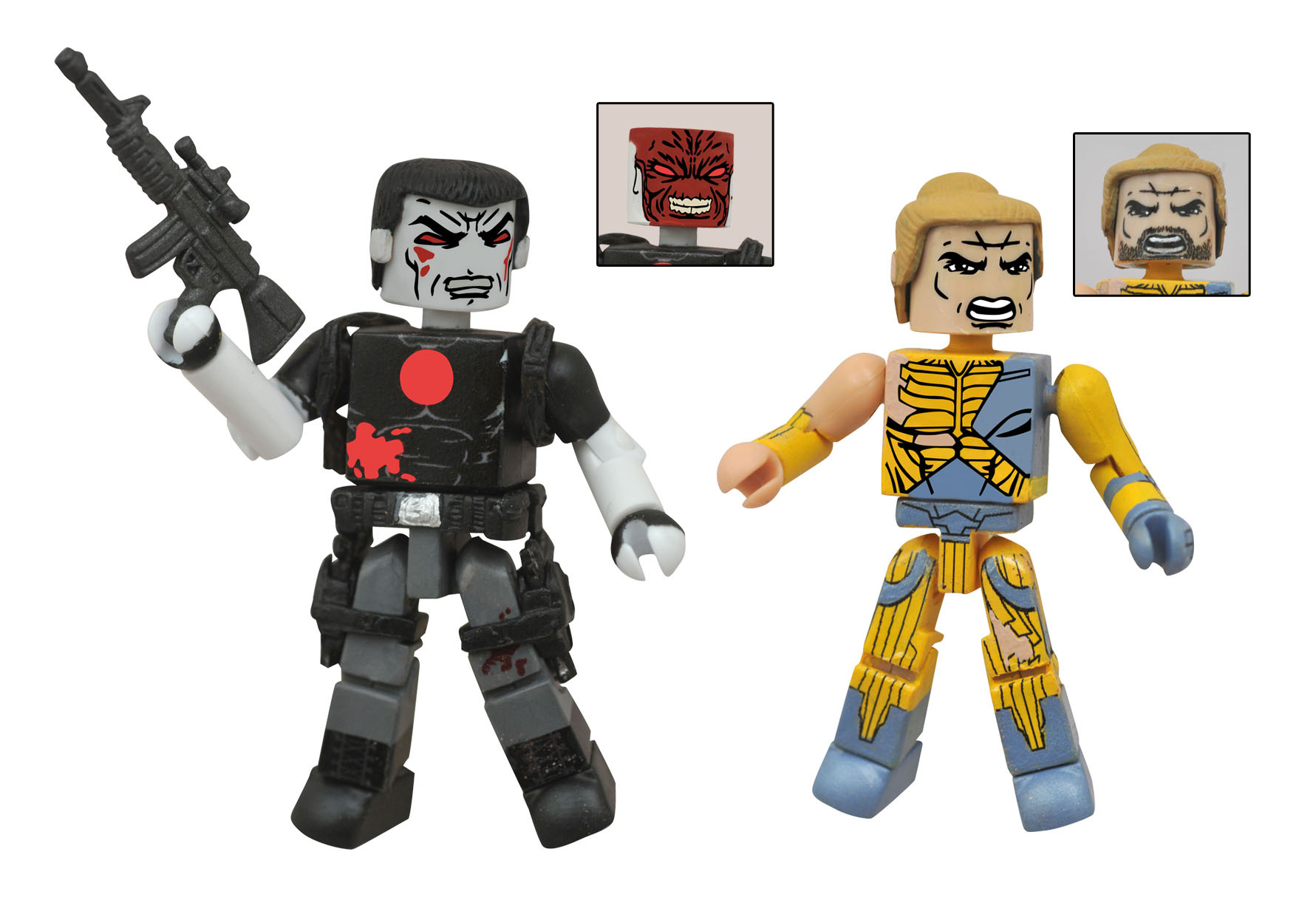 Valiant MiniMates Two-Pack – Battle-Damaged X-O Manowar/Bloodshot (Previews Exclusive)
