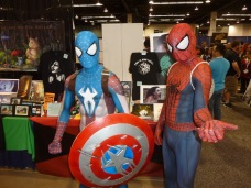 Spider- Man and Cap Spidey. Photo by Jason T. Smith