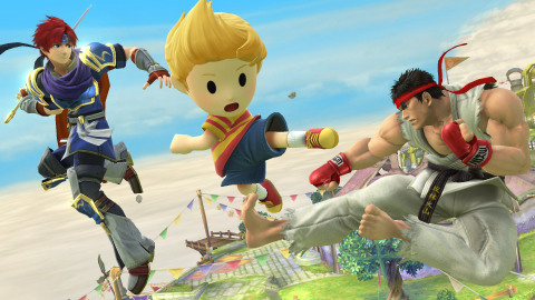 Three new characters join Super Smash Bros. for Nintendo 3DS / Wii U: Ryu from the Street Fighter series, Roy from Fire Emblem and Lucas from Mother 3. (Photo: Business Wire)