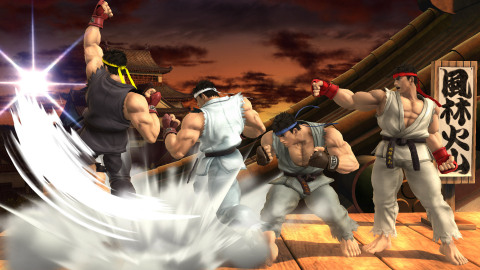 For the first time in Super Smash Bros. history, a character from the fighting game series Street Fighter® joins the battle. (Photo: Business Wire)