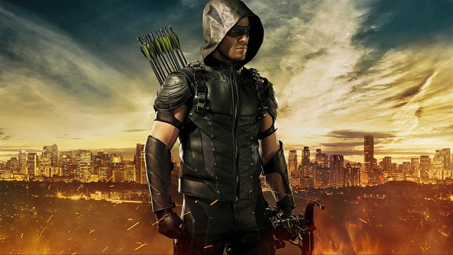 Arrow -- Image Number: ARR_S4_FIRST_LOOK_V4 -- Pictured: Stephen Amell as The Arrow -- Photo: JSquared Photography/The CW -- © 2015 The CW Network, LLC. All rights reserved.