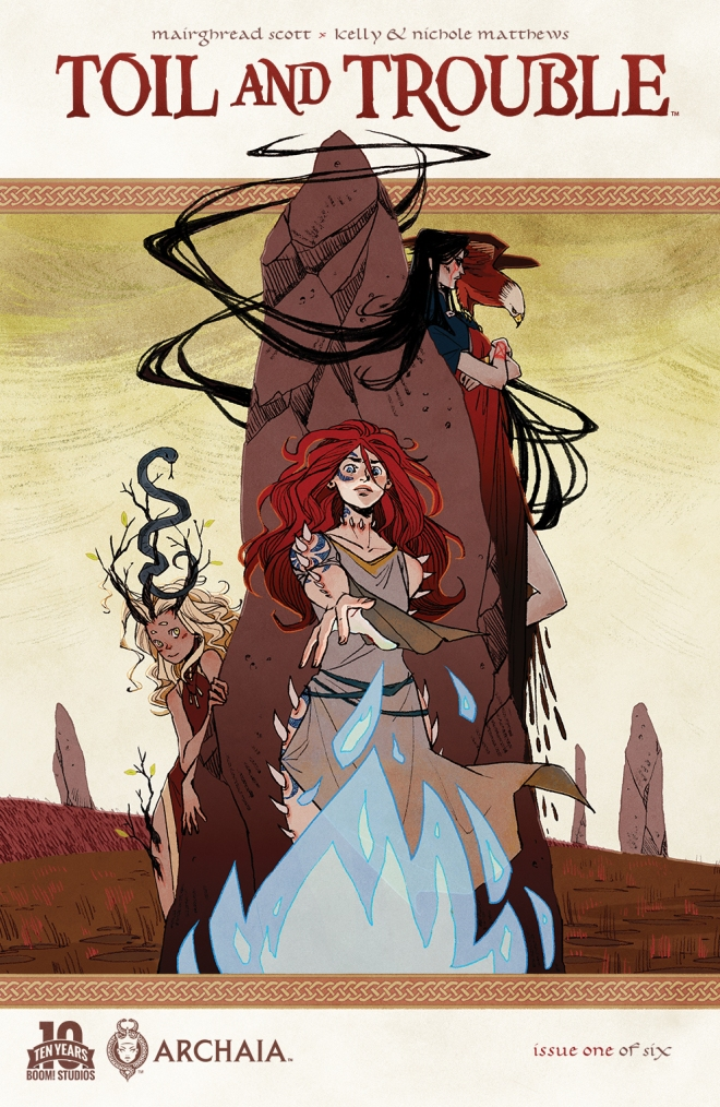 Toil and Trouble Main Cover by Kyla Vanderklugt