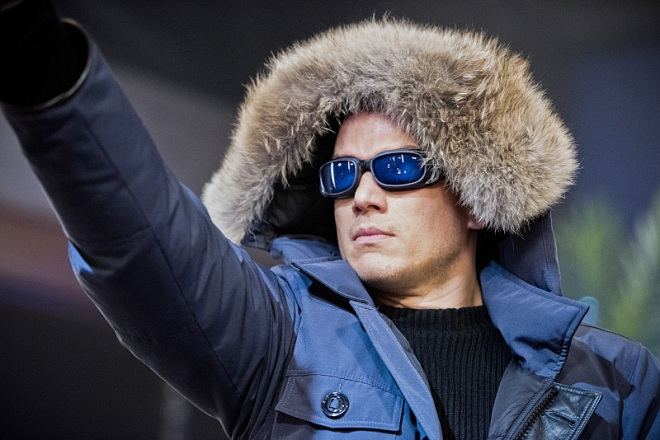 "The Flash -- ""Rogue Time"" -- Image FLA116B_0031b -- Pictured: Wentworth Miller as Leonard Snart/Captain Cold -- Photo: Dean Buscher/The CW -- © 2015 The CW Network, LLC. All rights reserved."