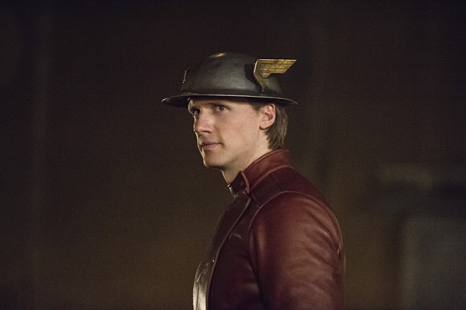 "The Flash -- ""Flash of Two Worlds"" -- Image FLA202A_0343b -- Pictured: Teddy Sears as Jay Garrick -- Photo: Cate Cameron/The CW -- © 2015 The CW Network, LLC. All rights reserved."